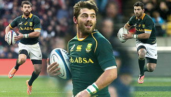 Meet World Rugby Player of the Year 2014 nominee, Willie le Roux