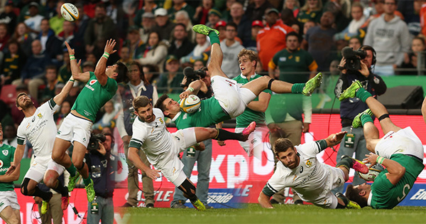 Willie le Roux gets one week ban after another midair contest goes wrong