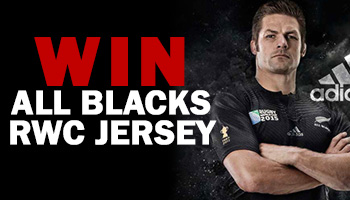 WIN a new All Blacks Rugby World Cup 2015 Jersey