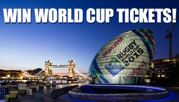 Win Rugby World Cup Tickets to France v Canada with Canon