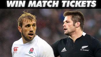 WIN tickets to watch England vs the All Blacks at Twickenham!
