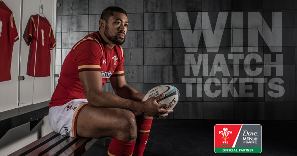 WIN Tickets to a RBS 6 Nations game of your choice with Dove Men+Care