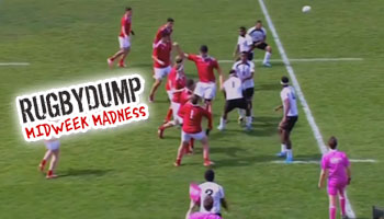 Midweek Madness - Probably the worst lineout throw ever