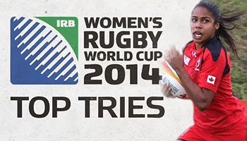 Women's Rugby World Cup Top Five Tries + Match Highlights from round one