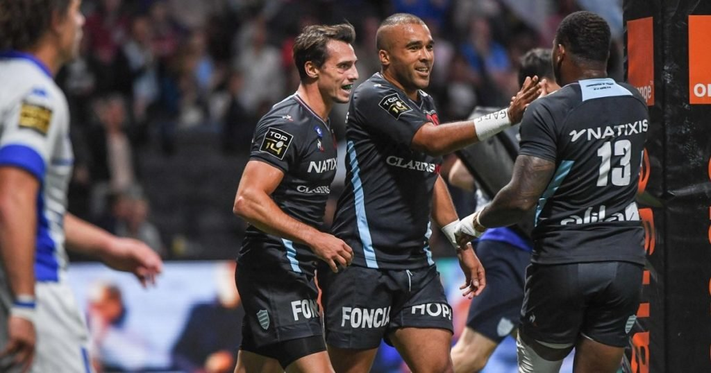 Simon Zebo and Finn Russell steal the show in Racing 92 win over Castres