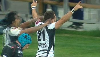 Zebre upset Ospreys with dramatic last gasp try in PRO12 clash