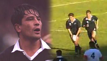 The Zinzan Brooke drop goal from 1995