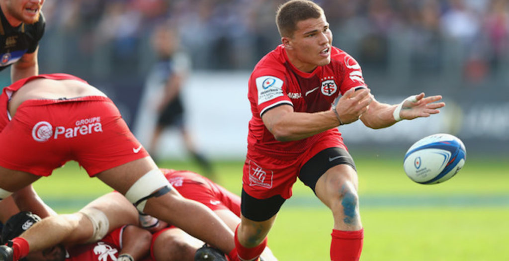 Young French scrum half scores stunning counter attack try
