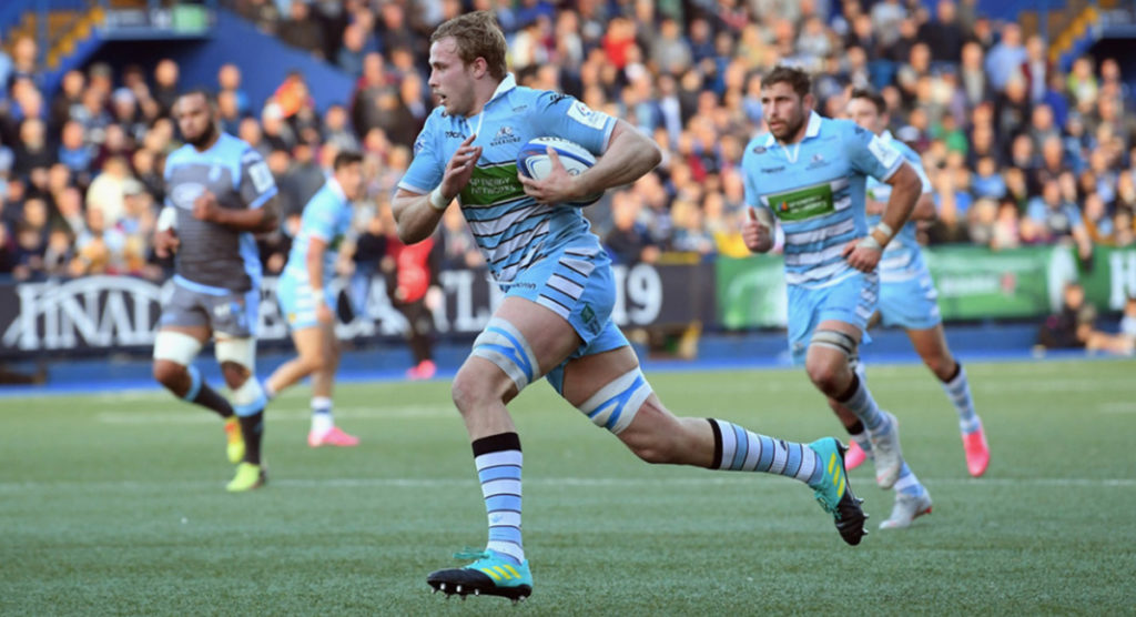 Lock Jonny Gray flies in for impressive 80m try away from home