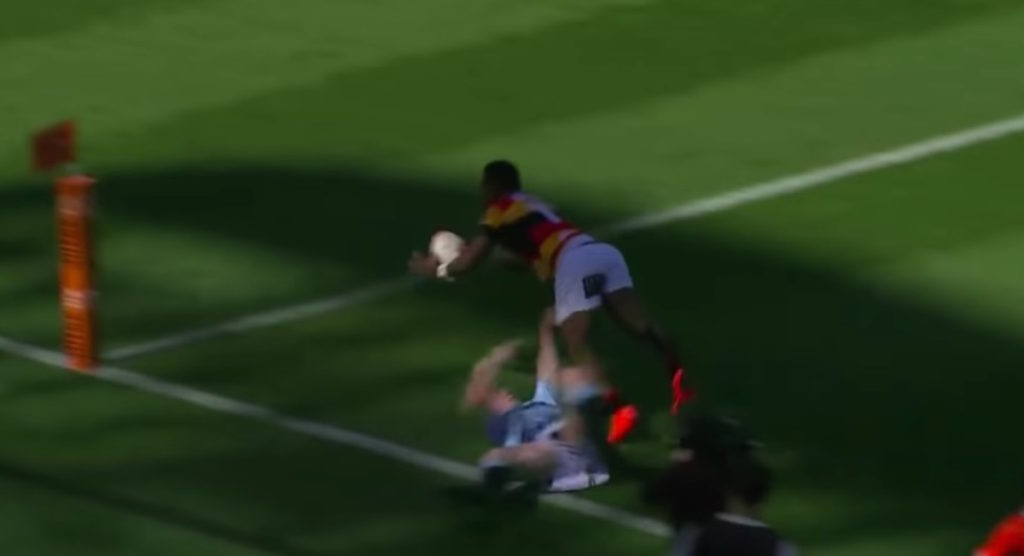Waikato winger scores four tries in epic semi-final