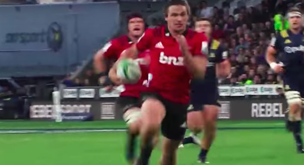 Watch all 15 tries scored by Crusaders youngster in sensational season