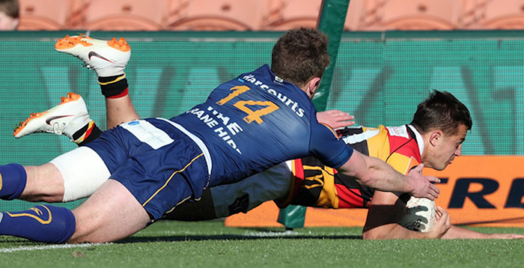 Waikato winger scores seven second try straight from kick off