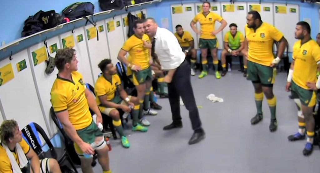 Half time rant provides lifeline for Cheika and Wallabies against Argentina