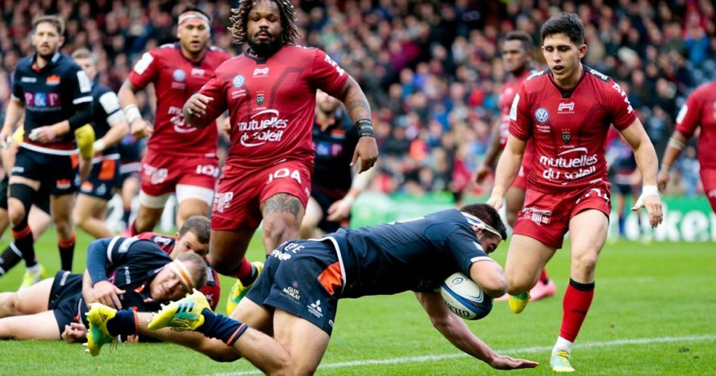 Edinburgh stun past champions Toulon to secure biggest ever European victory