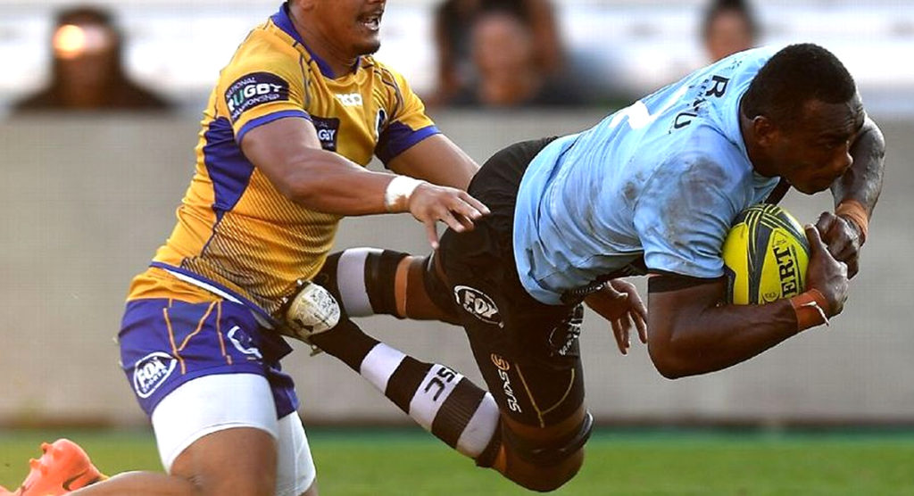 WATCH: Fijian Drua score typically Fijian tries on way to NRC Grand Final