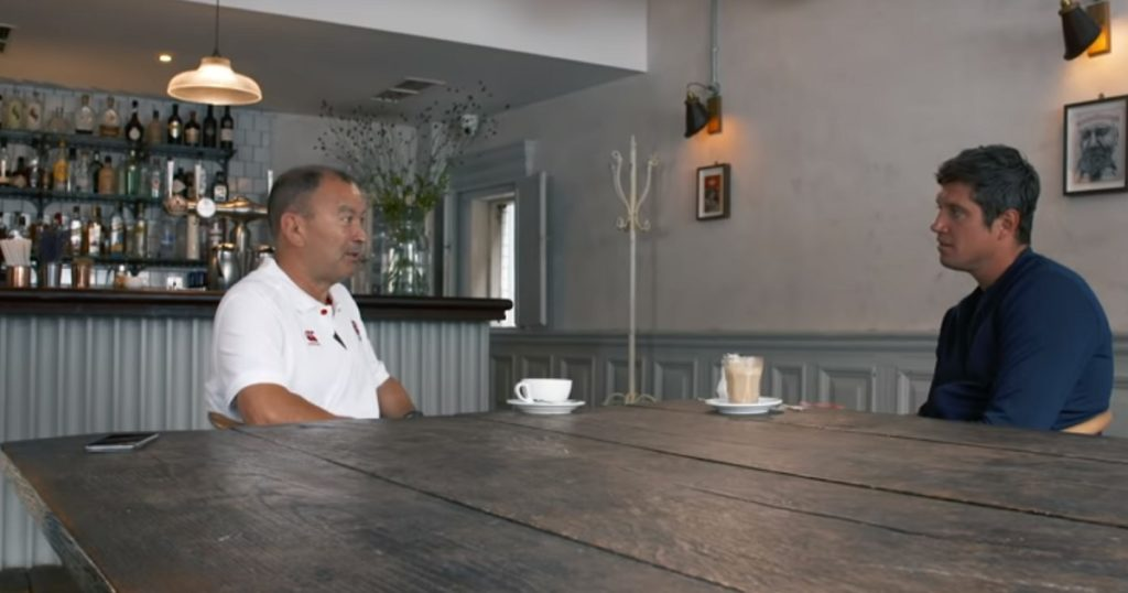 Eddie Jones gives fascinating insight into career in truly enlightening interview
