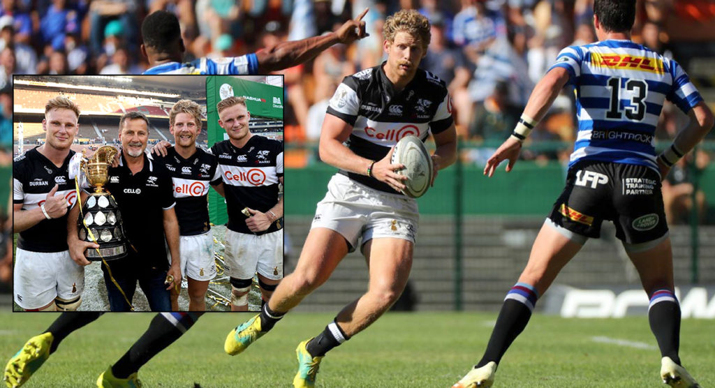 Currie Cup winning flyhalf swaps one Sharks for another as deal is announced