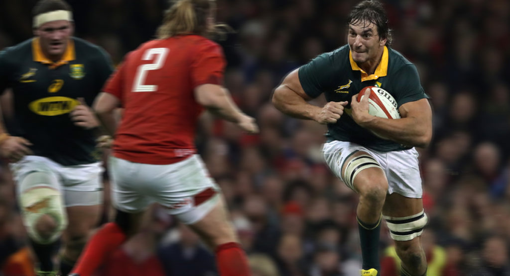 Giant lock returns while the rest of the Springbok side is unchanged for crunch Wales Test