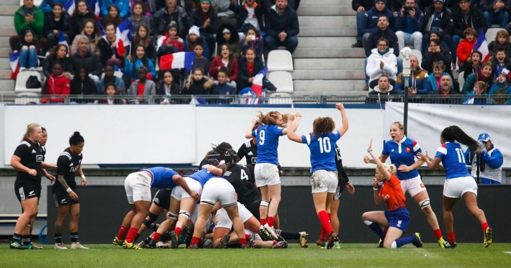 WATCH: France Women score spectacular tries to make history with first ever victory over New Zealand