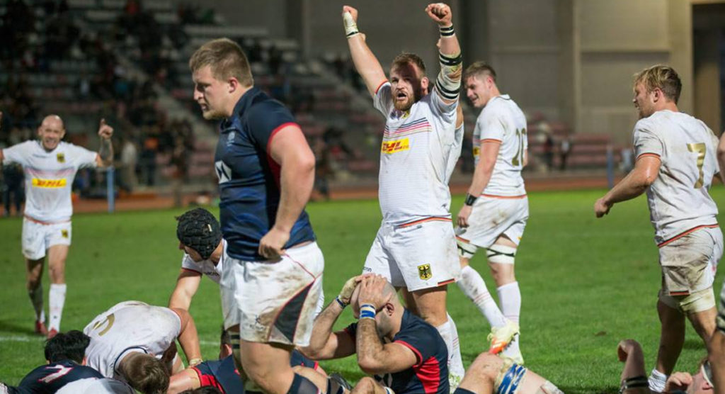 Canada and Germany claim early honours as Rugby World Cup 2019 final place tournament kicks off
