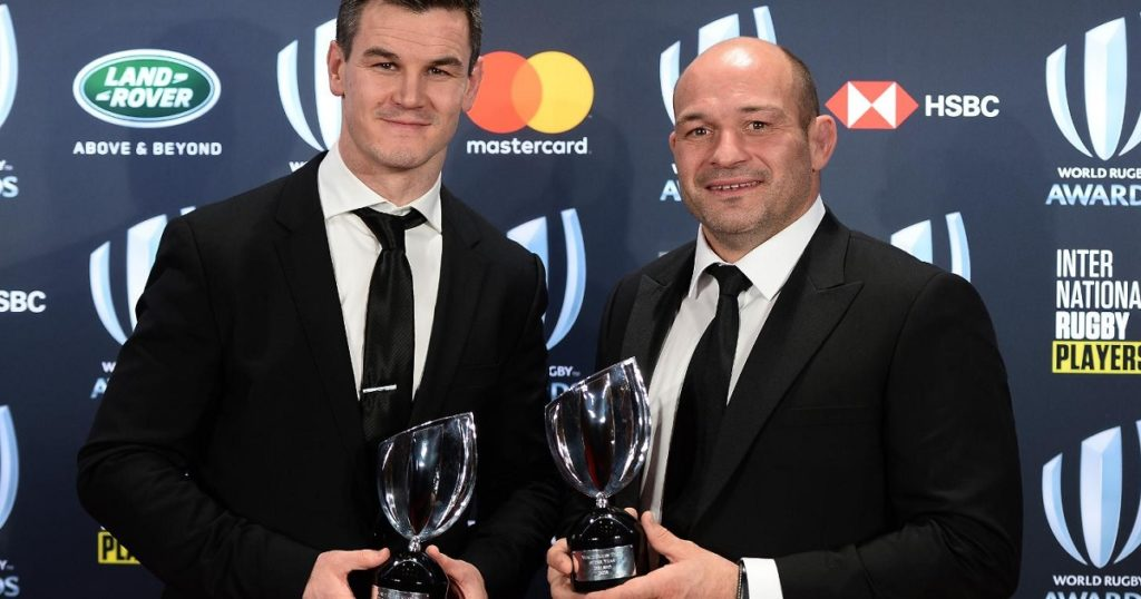 Jonny Sexton named Player of the Year as Ireland dominate World Rugby Awards