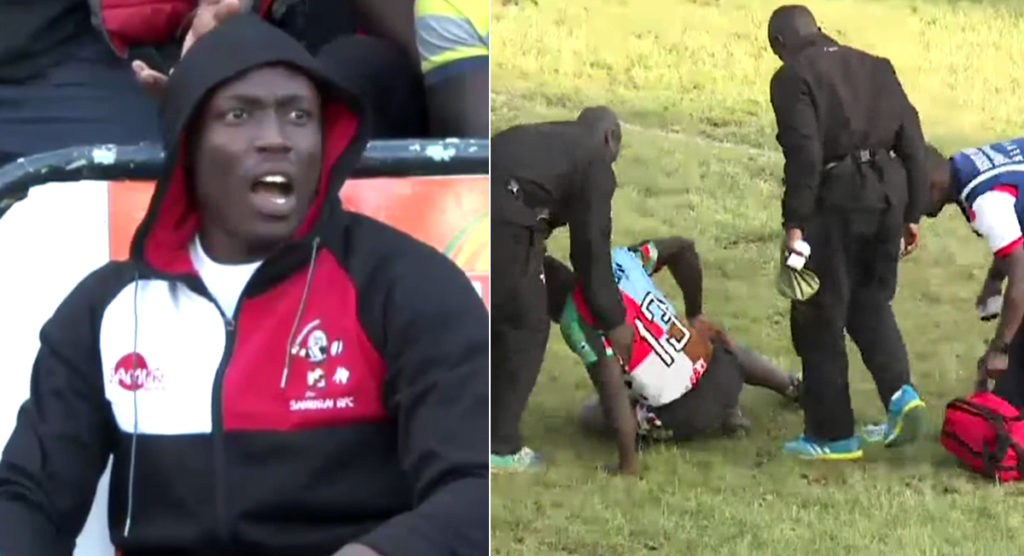 Flipped 'like a sack of potatoes' as Kenyan rugby sees shocking tackle in club game