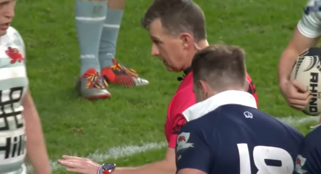 Show him respect but there's no need to call Nigel Owens 'Sir'