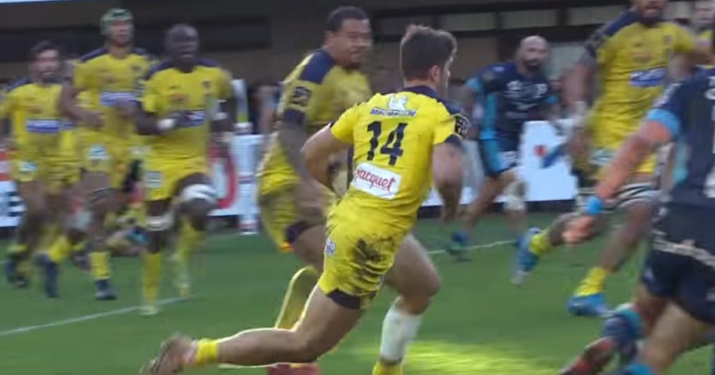 Aaron Cruden gifts Clermont easy try after cross-field shocker, then pulls muscle