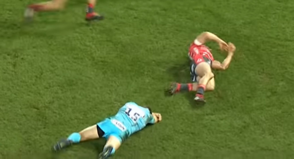 Chris Pennell suspended for dangerous play as instinct kicked in after unexpected jump