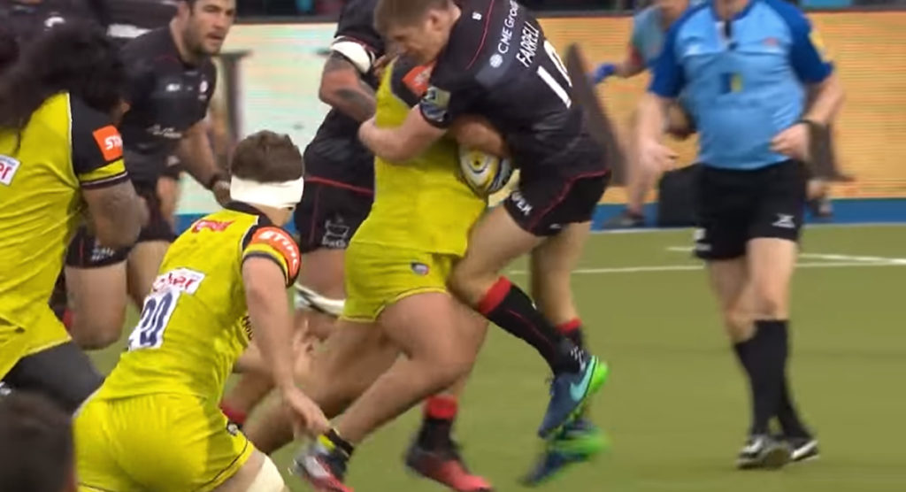 Premiership Rugby release BIGGEST HITS IN HISTORY video and it does not disappoint
