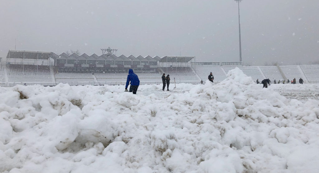 Timisoara Saracens fined and penalised after snow caused Northampton Saints match in Romania to be called off