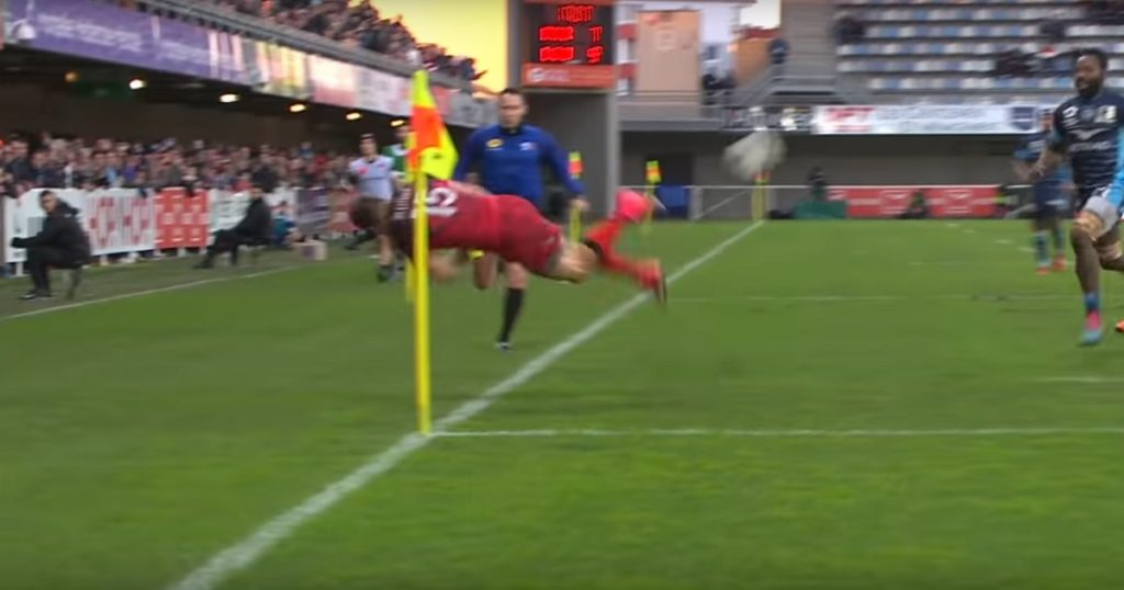 Kiwis Arnold and Wulf combine for great Lyon try against Montpellier