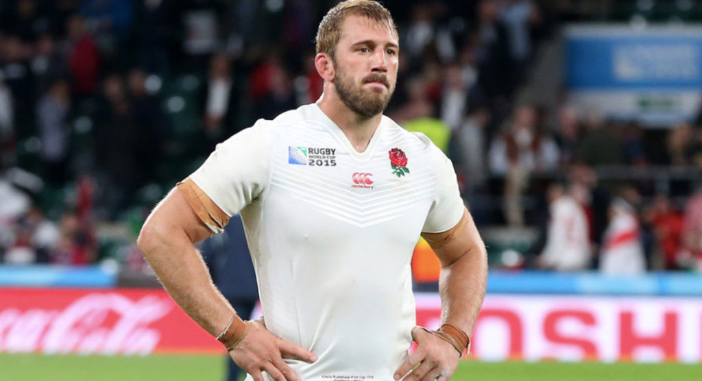 SCARRED: Chris Robshaw opens up about England's early 2015 RWC exit