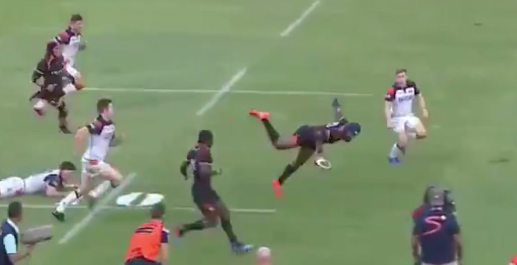 WATCH: Unbelievable 90-metre try wins game for Southern Kings