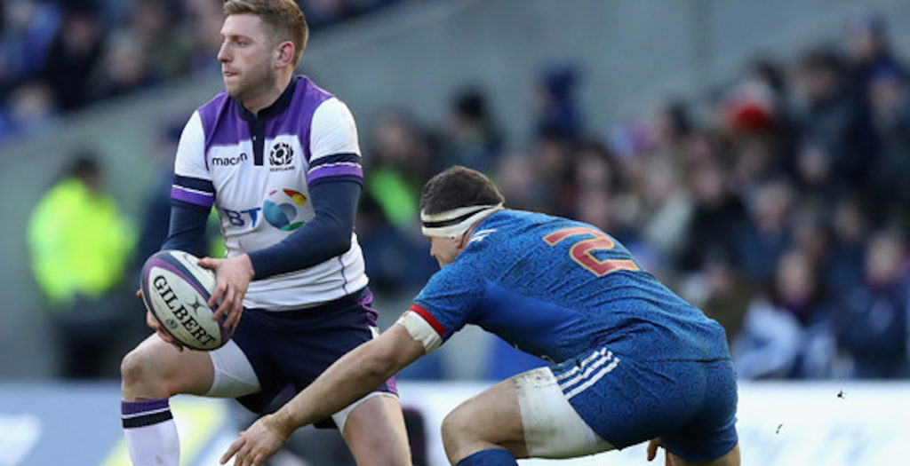 Scotland centre 'ready to go' at fly half against France