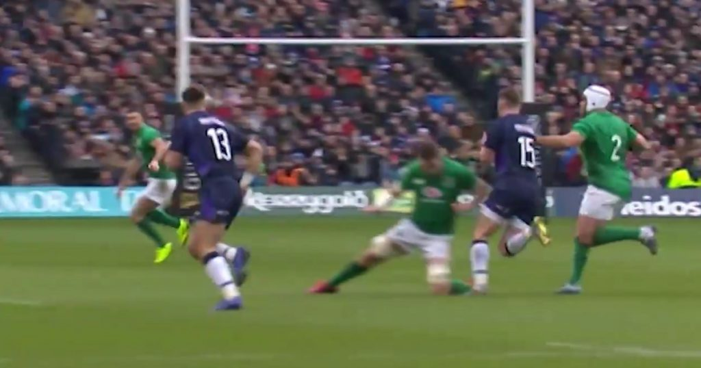 Should Peter O'Mahony's challenge on Stuart Hogg have gone unpunished?