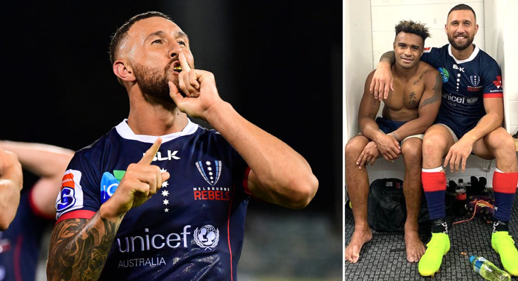Quade Cooper credits former club with reigniting his love for rugby after return to the big time