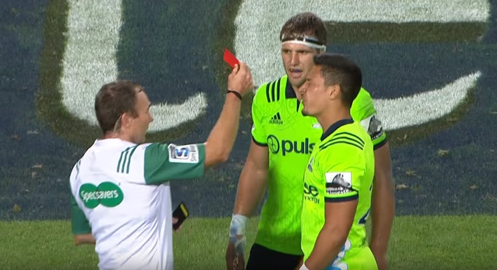 'Incredibly harsh' call as opening match sees first sending off of Super Rugby 2019