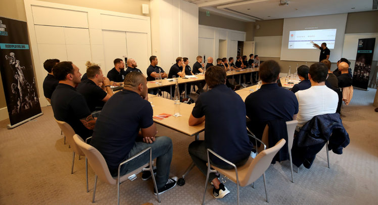 Rugby Players Council meeting in Monaco