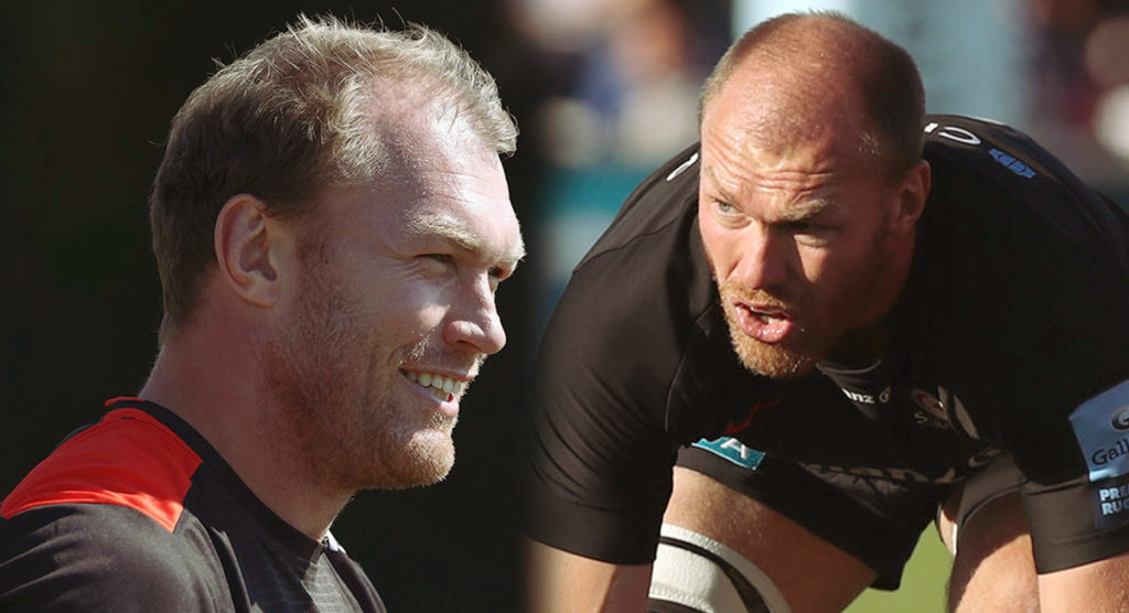Saracens players and fans genuinely touched by true gentleman, Schalk Burger