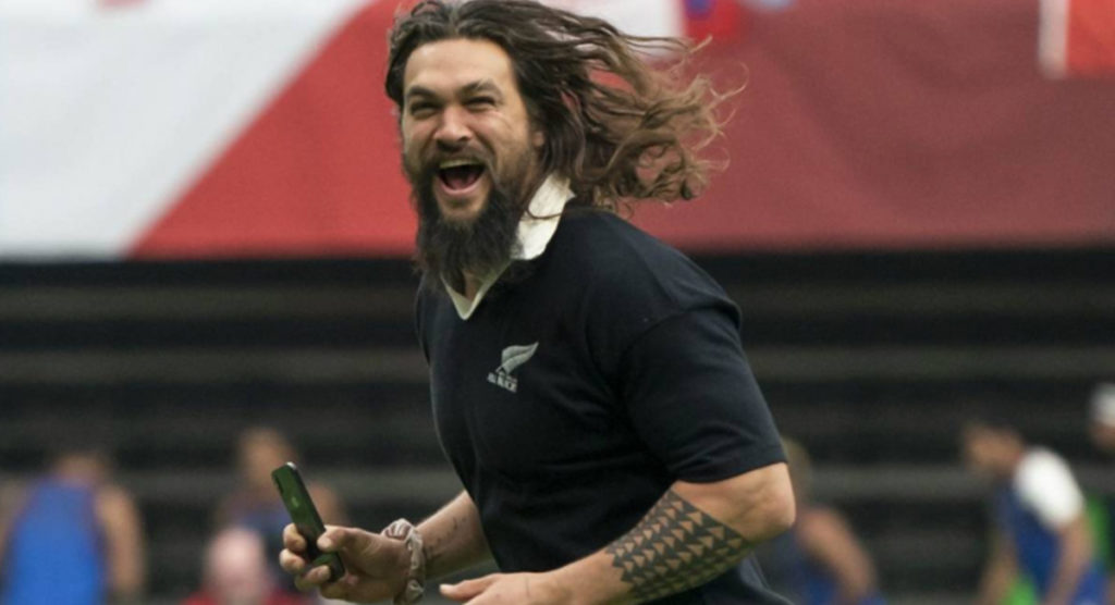 Game of Thrones star Jason Momoa reveals fascinating story behind THAT All Blacks jersey he wore