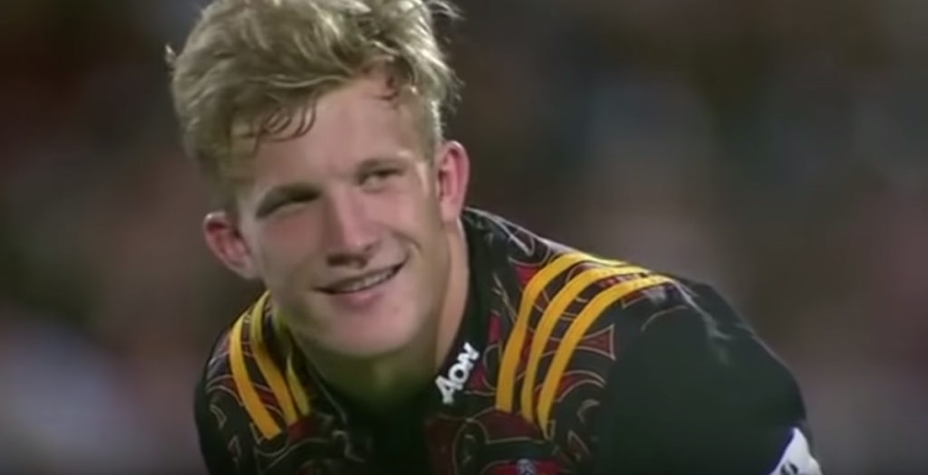 All Black makes BEAUTIFUL assist in Super Rugby