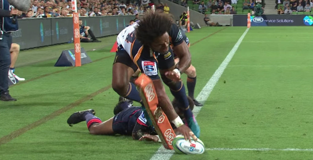 Ex-Wallaby must have special powers to score THIS try