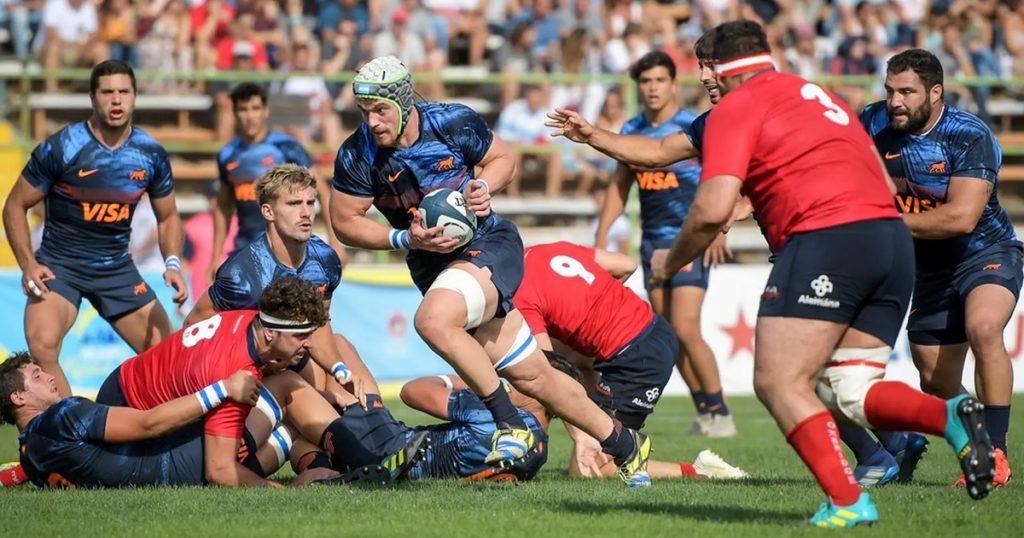 WATCH: Argentina XV run in 13 tries over Chile as Americas Rugby Championship reaches conclusion