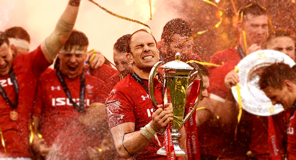 New montage shows why inspirational Alun Wyn Jones was voted Six Nations Player of the Championship