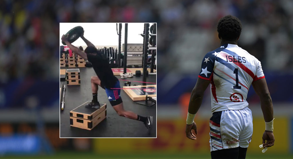 Carlin Isles gym footage shows fascinating speed exercise