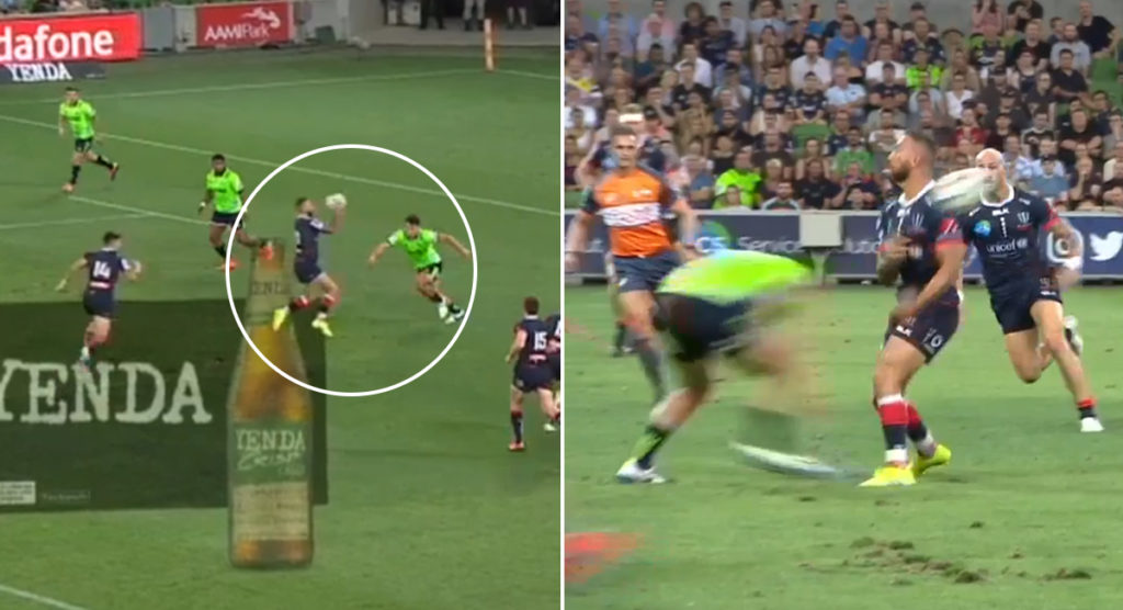 Quade Cooper at it again as trademark skill puts Rebels in for two great tries
