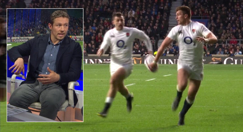 Jonny Wilkinson analysis on why England shot off to a huge lead and how one handed passes are the new normal