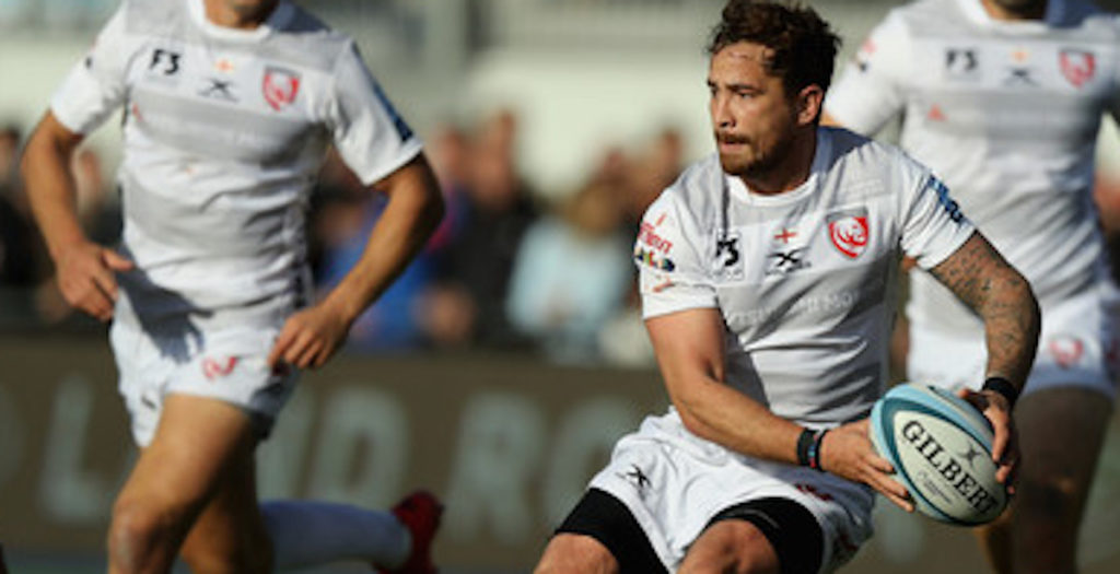 WATCH: Cipriani shows his class with silky miss pass to assist Gloucester try