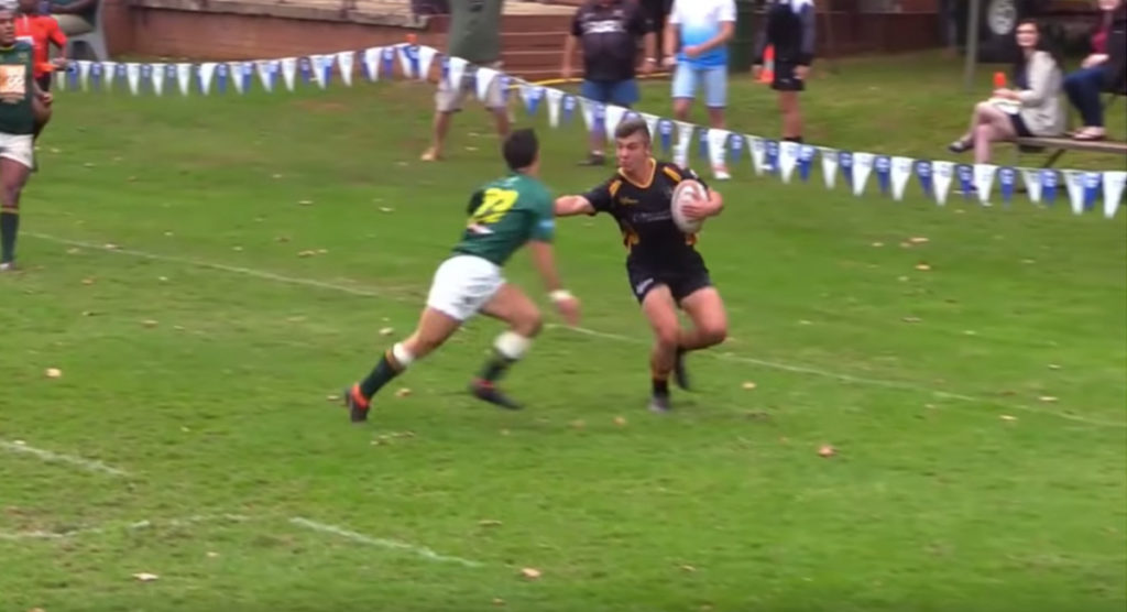Young hooker scores wonder try in dramatic Kearsney Easter Rugby Festival match